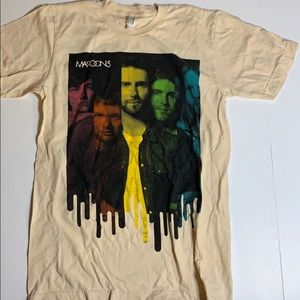 Maroon 5 2010 Tour T-shirt size small